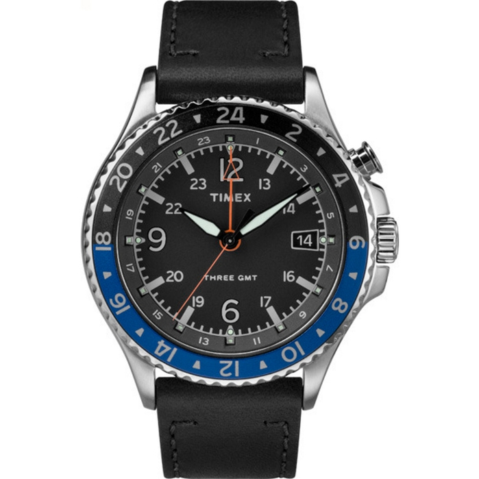 TIMEX | Timex Iq Technology 3-gmt Case | Goxip