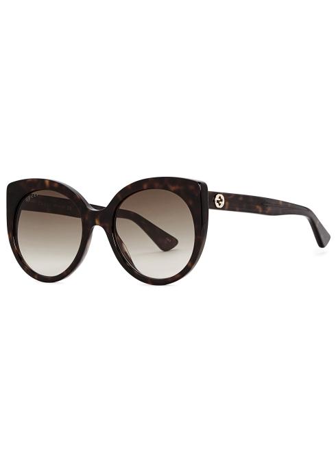 446a97c93bf Gucci Tortoiseshell cat-eye sunglasses - Harvey Nichols