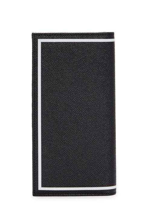 b18bdf26af Dolce   Gabbana Black printed leather wallet - Harvey Nichols