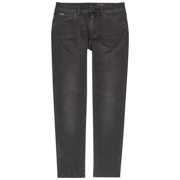 Dolce & Gabbana Charcoal Slim-leg Jeans