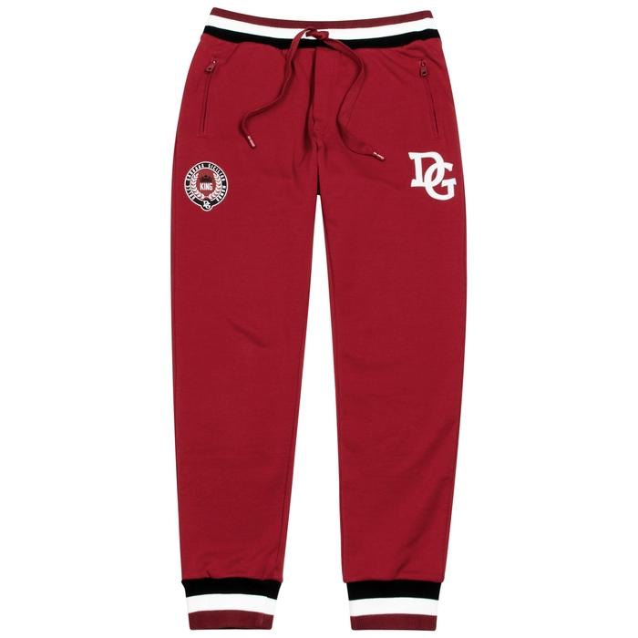 Dolce & Gabbana Logo-print Cotton-blend Jogging Trousers