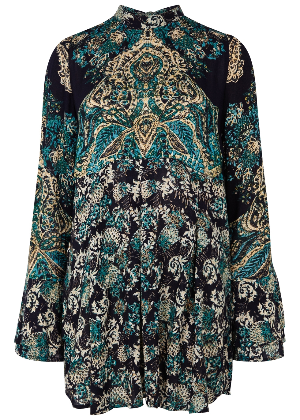 LADY LUCK PRINTED TOP