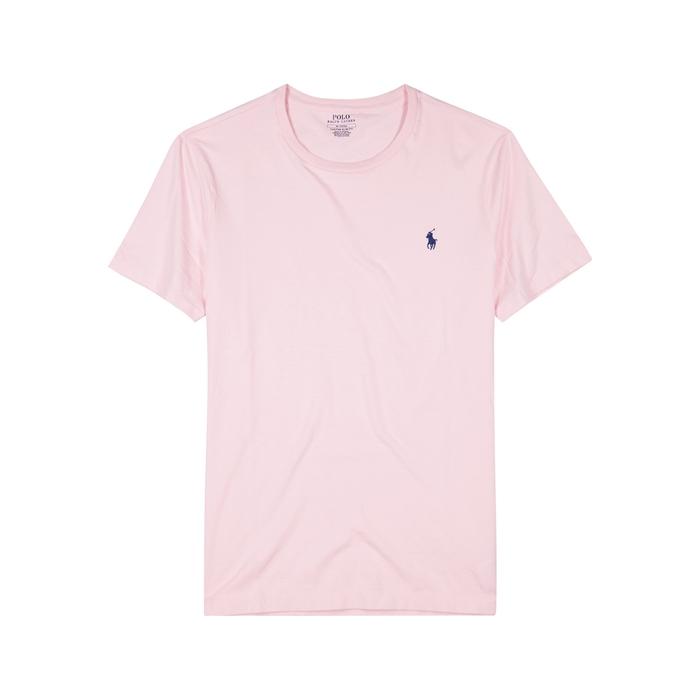 Polo Ralph Lauren Pink Slim Cotton T-shirt