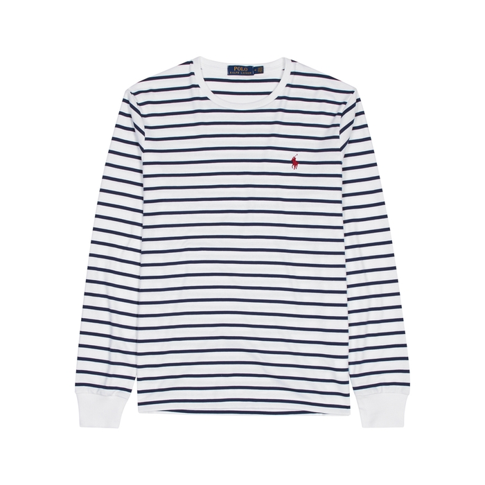 dd798f43a POLO RALPH LAUREN STRIPED COTTON TOP
