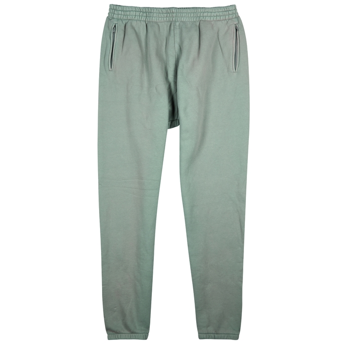 YEEZY SEASON 6 Olive Cotton Jogging Trousers