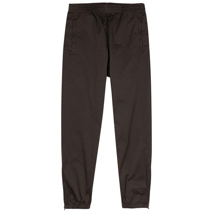 YEEZY SEASON 6 Black Cotton Jogging Trousers