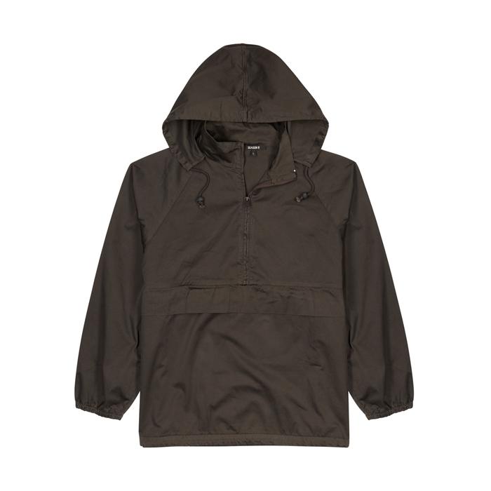 YEEZY SEASON 6 Black Faded Cotton Jacket
