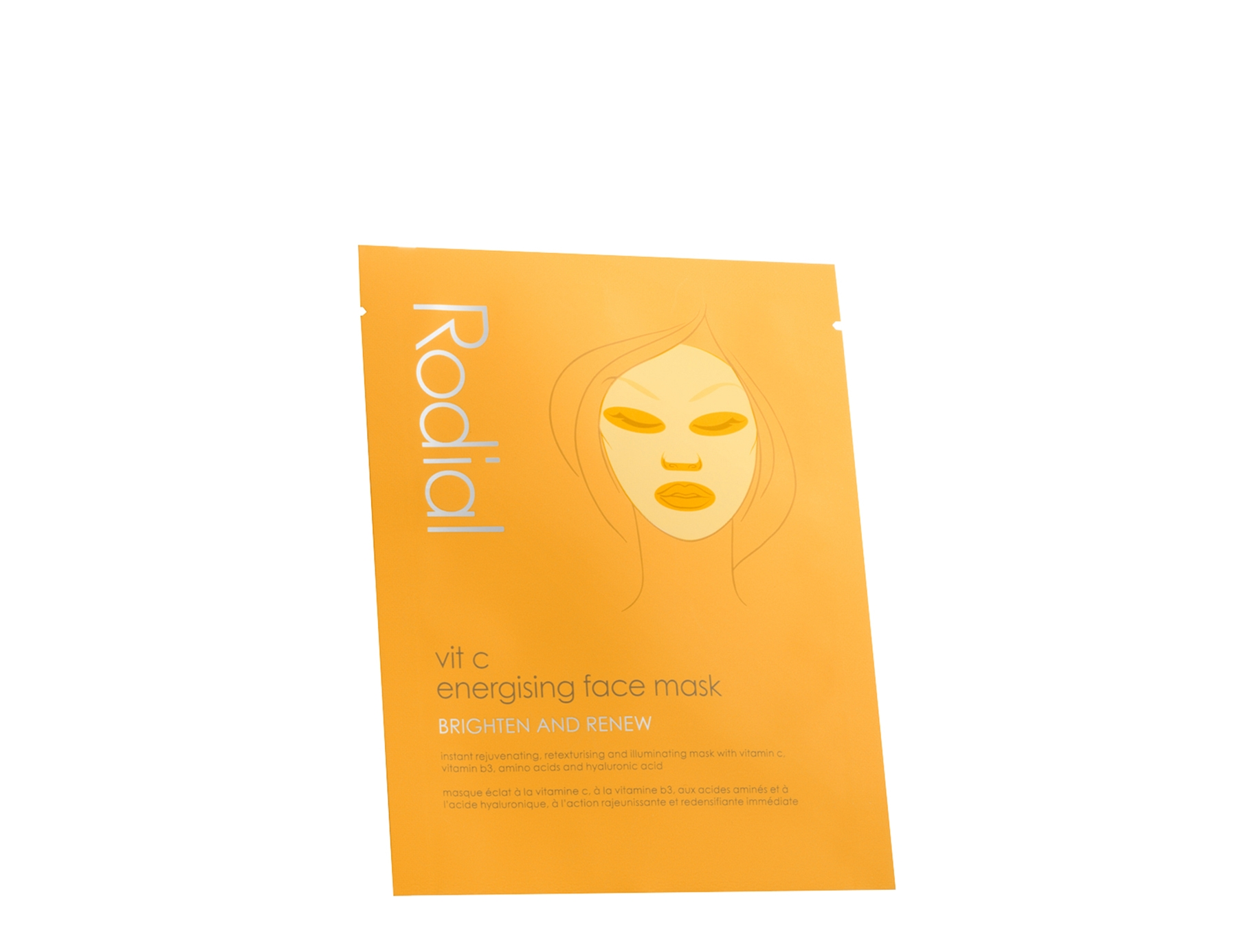 Face Energising Mask Sachet Single C Vit