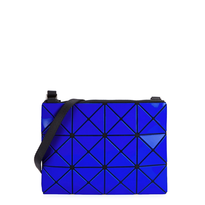 56569046f9d7 Bao Bao Issey Miyake Lucent Two-Tone Cross-Body Bag In Blue ...