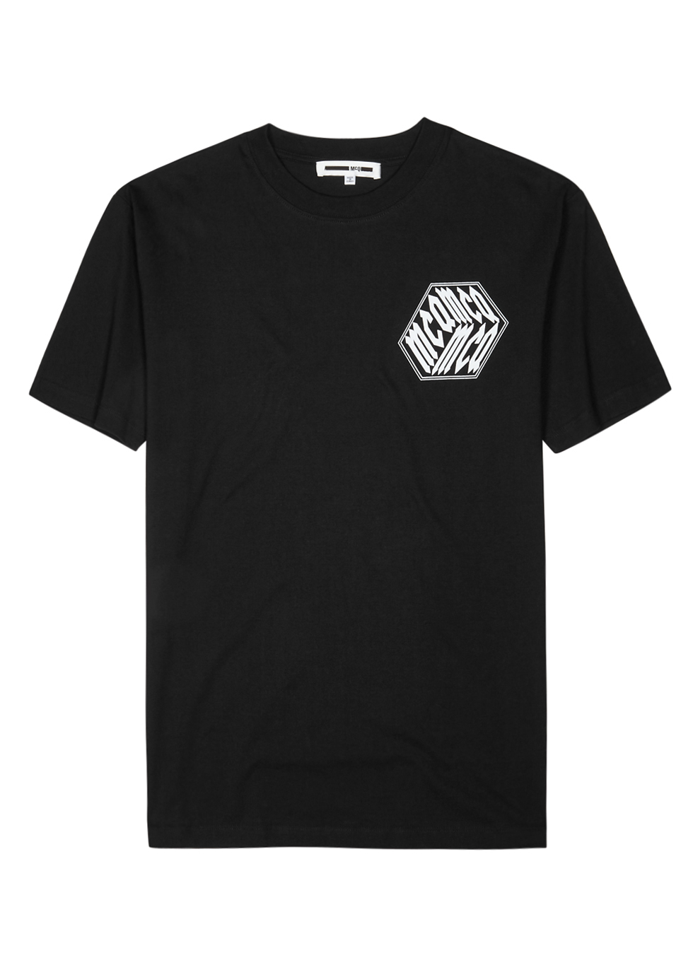 MCQ BY ALEXANDER MCQUEEN Mcq Alexander Mcqueen Graphic Patch T-Shirt - Black