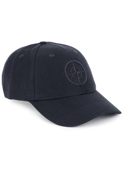 d5b834d001d8 Stone Island Navy logo-embroidered twill cap - Harvey Nichols