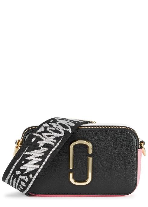 Marc Jacobs Snapshot colour-block leather shoulder bag - Harvey Nichols 3b72e9a29b1a2