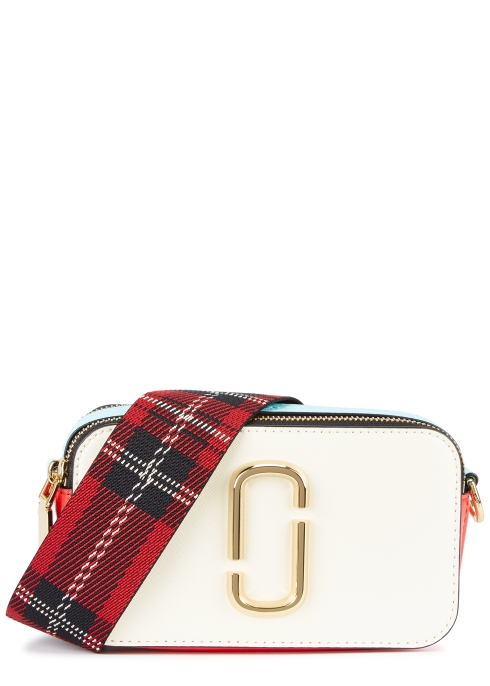 f17ed39943bd Marc Jacobs Snapshot colour-block leather shoulder bag - Harvey Nichols
