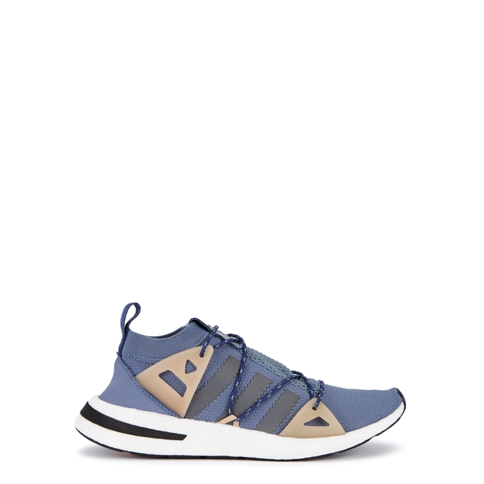 best service abbde 014fb ADIDAS ORIGINALS Arkyn Blue Textured Mesh Trainers  ModeSens