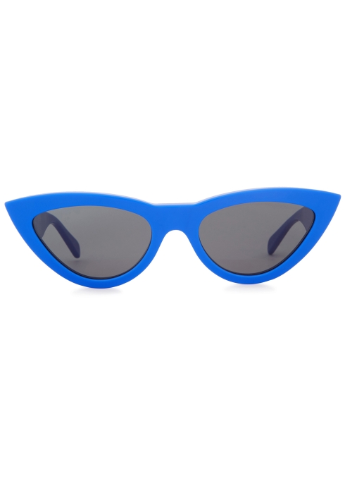 d2ee4747b61 Celine Blue cat-eye sunglasses - Harvey Nichols