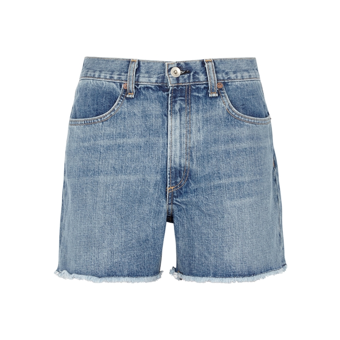 427a2c4e70 Rag & Bone Torti Blue Denim Shorts | £165.00 | Gay Times