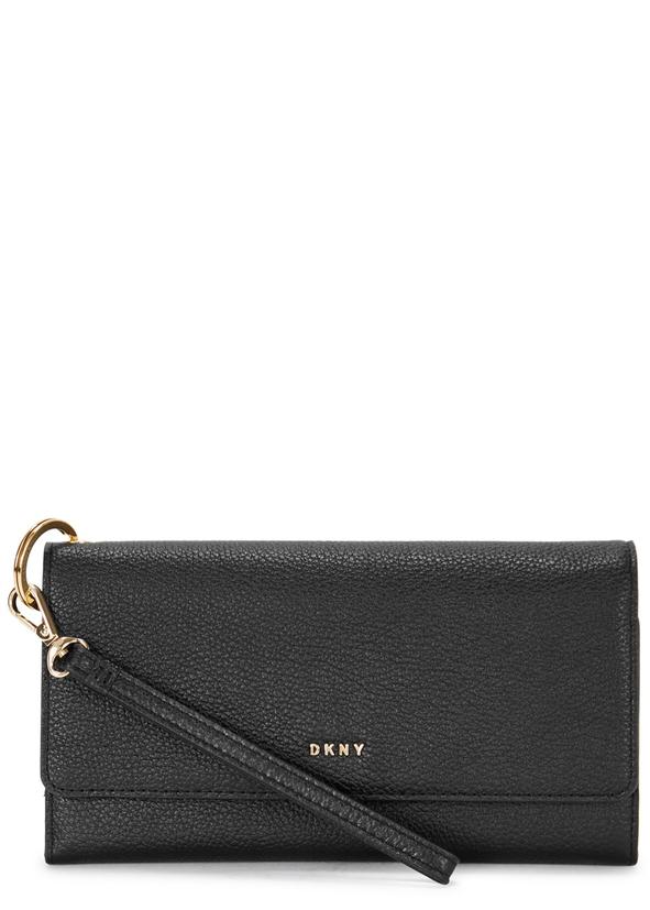 Chelsea Black Leather Wallet