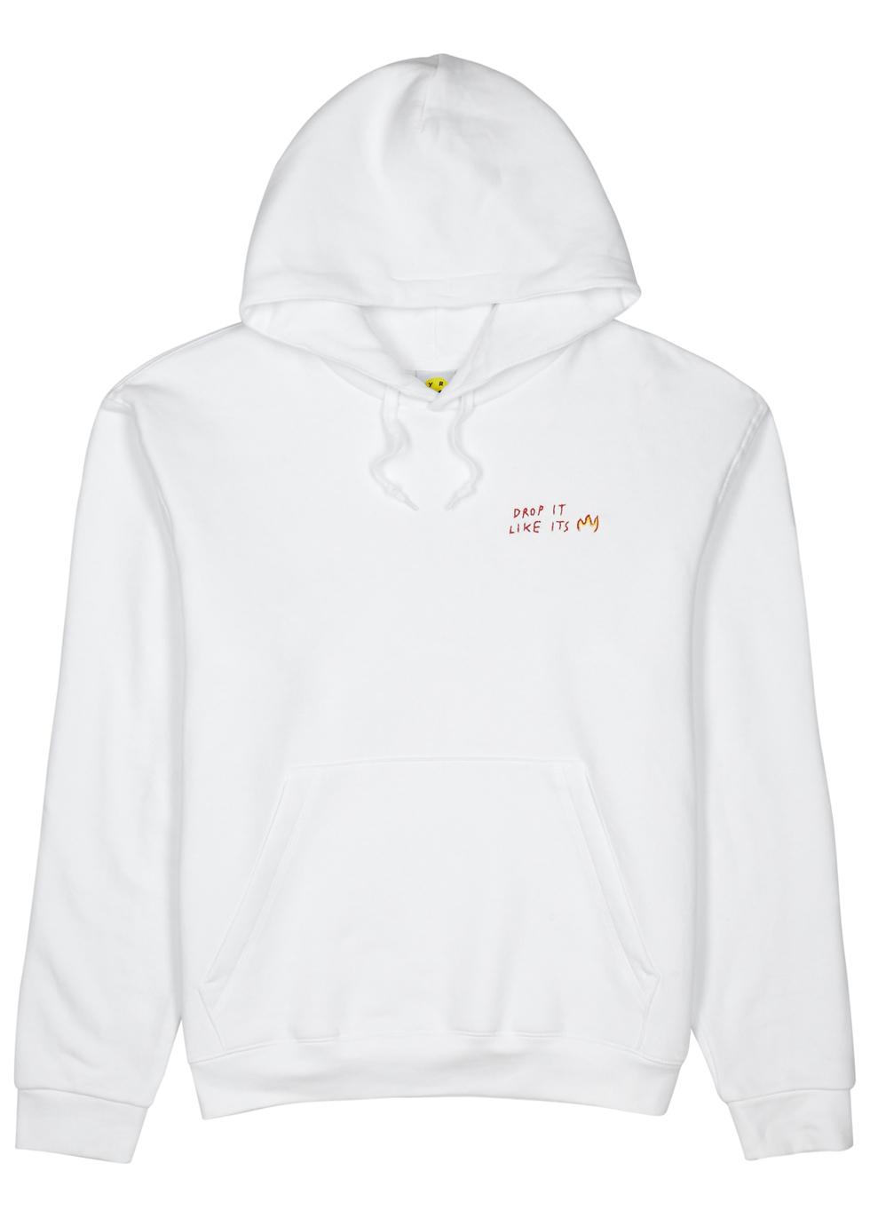 Drop It Like It's Hot hooded sweatshirt