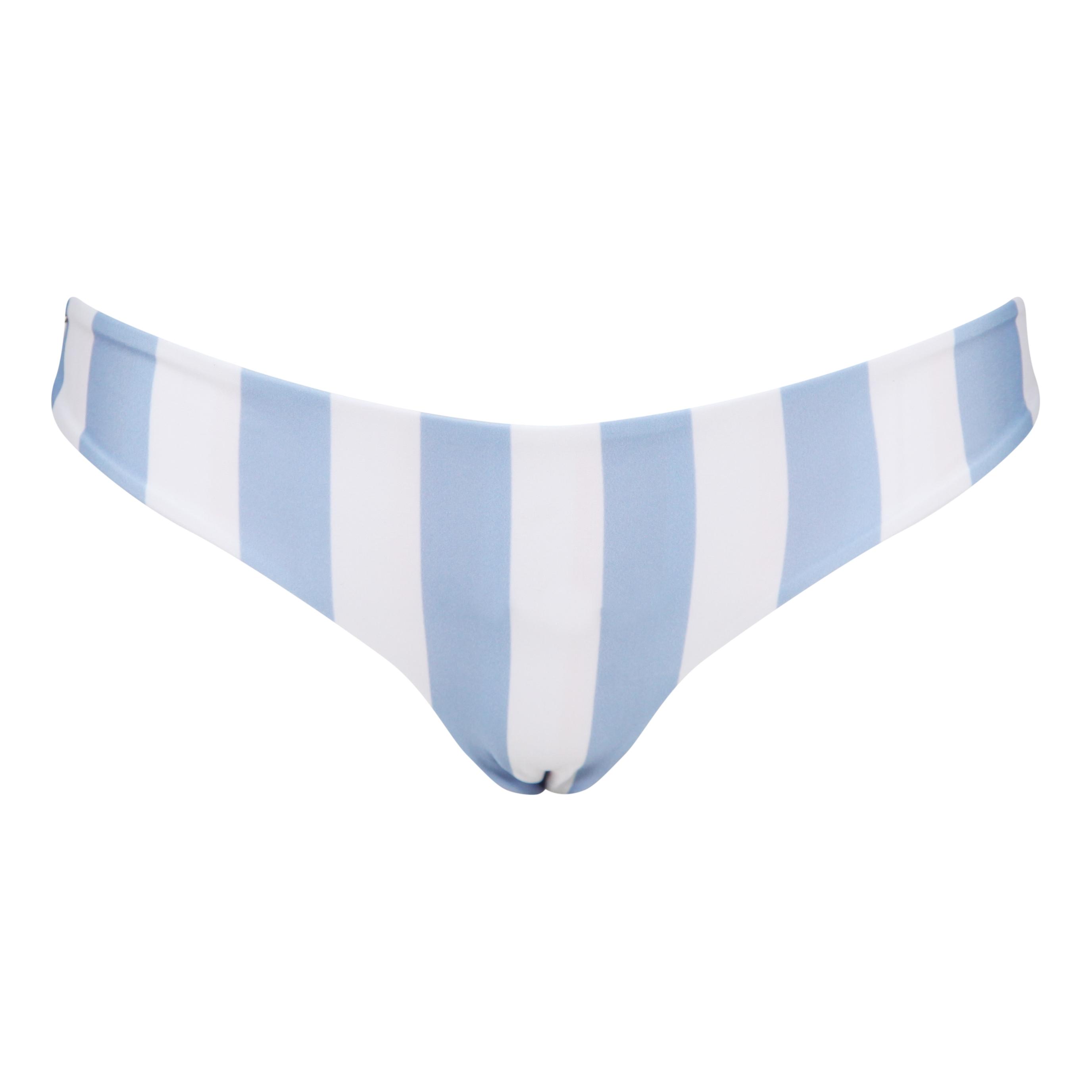 MARBLE SWIMWEAR MISTRAL BOTTOMS - SERENITY BLUE - ROSE PINK