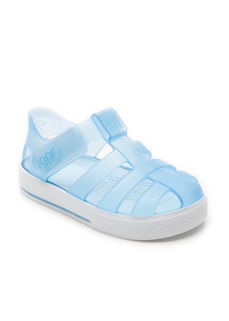 550a9fcff29d Igor Kids. The stars jelly sandal