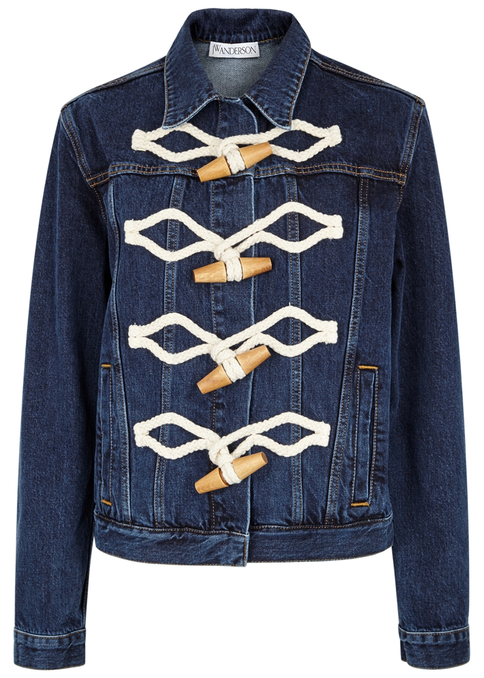 J.W.ANDERSON DARK BLUE DENIM JACKET