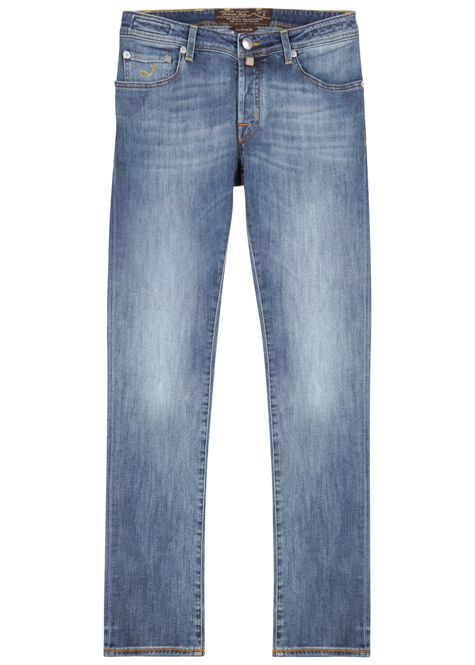 J622 light blue slim-leg jeans