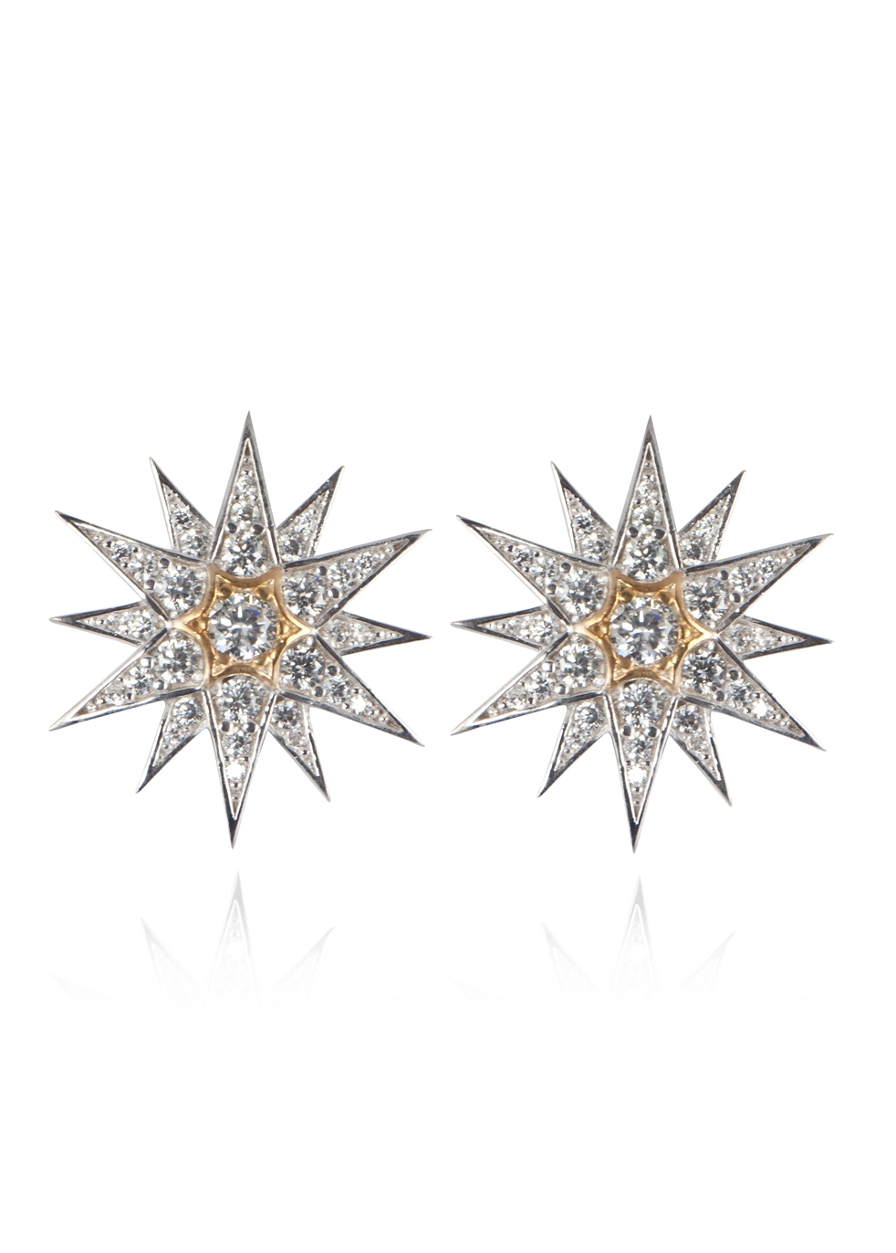 APPLES & FIGS Celestial Star Studs