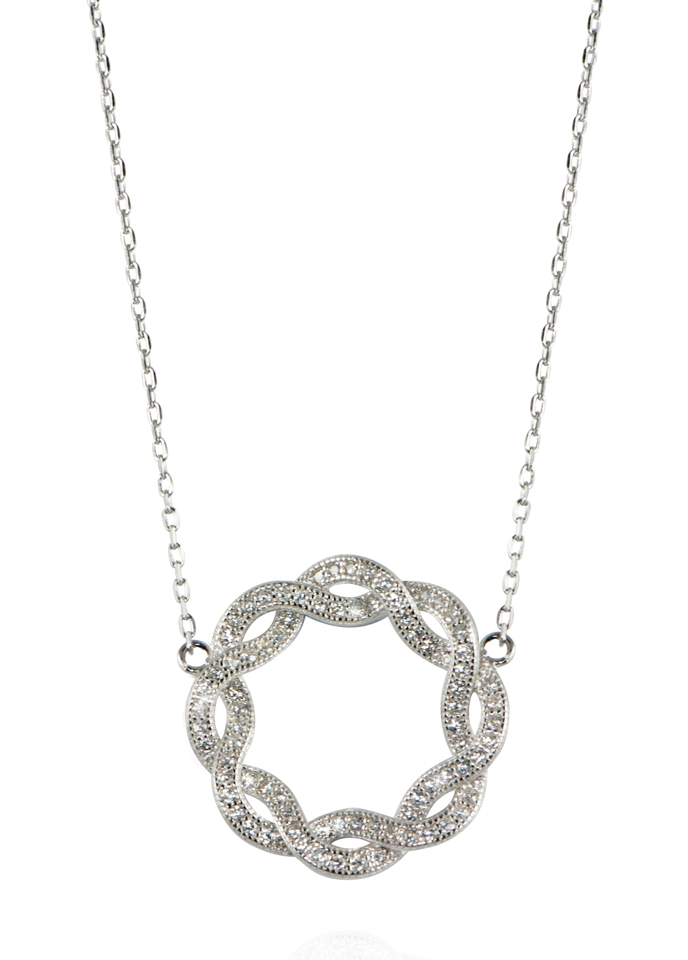 APPLES & FIGS Eternity Serpent Necklace