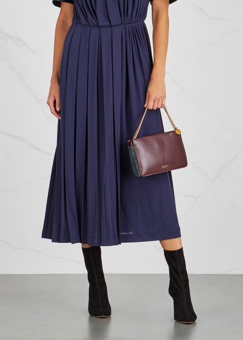 27eb90fc38 Givenchy Cross3 aubergine leather cross-body bag - Harvey Nichols