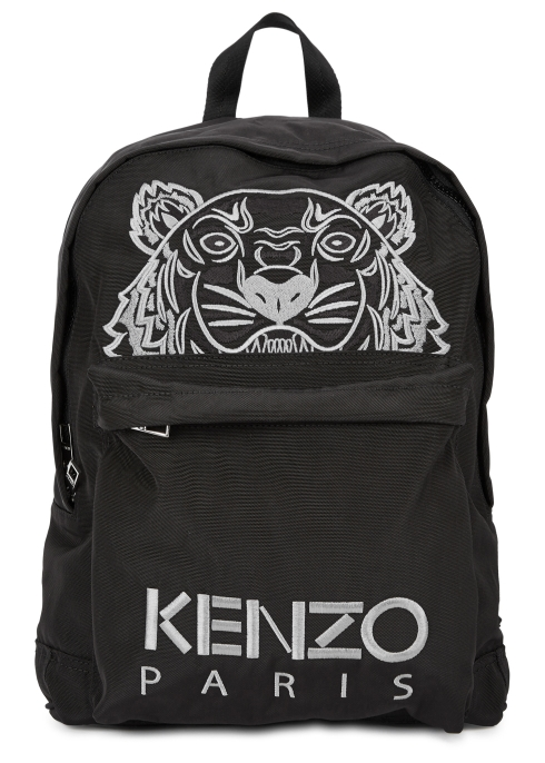 16d8bf4a3b KENZO Tiger-embroidered canvas backpack - Harvey Nichols