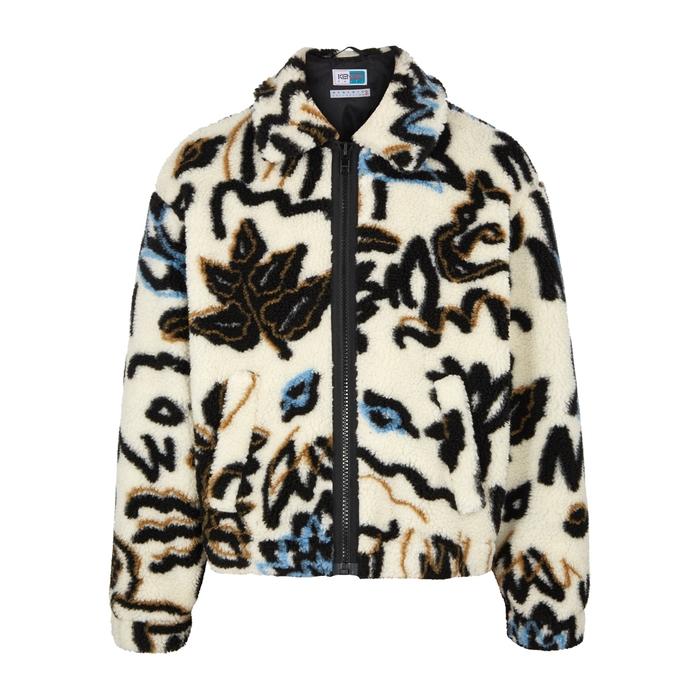 KENZO Memento Printed Faux-shearling Jacket