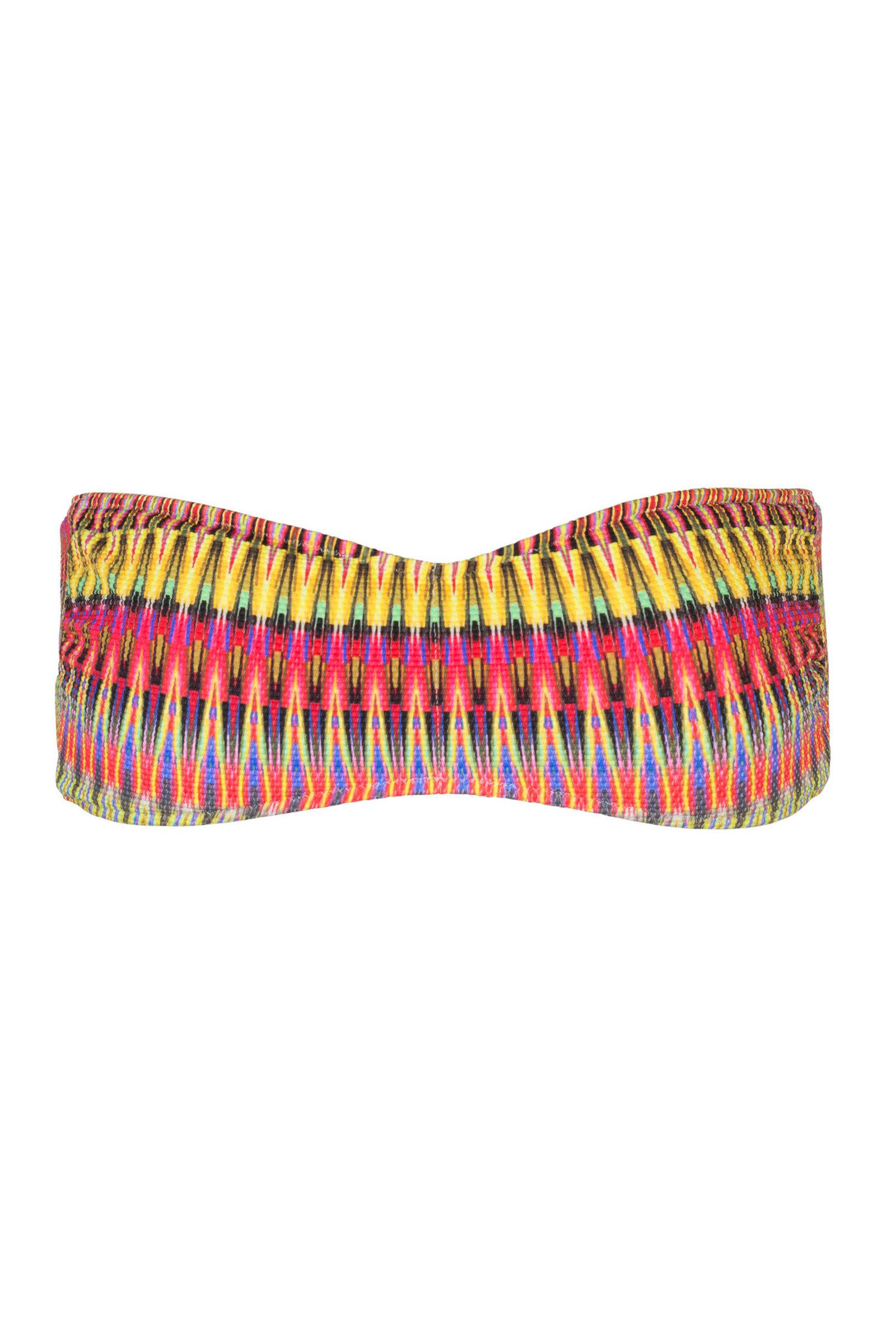 VALIMAR Salinas Bandeau Bikini Top Multi-Colour