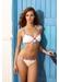 Seychelles shoulder strap bikini top off white - Valimare