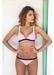 St barths colour block bikini top pink - Valimare