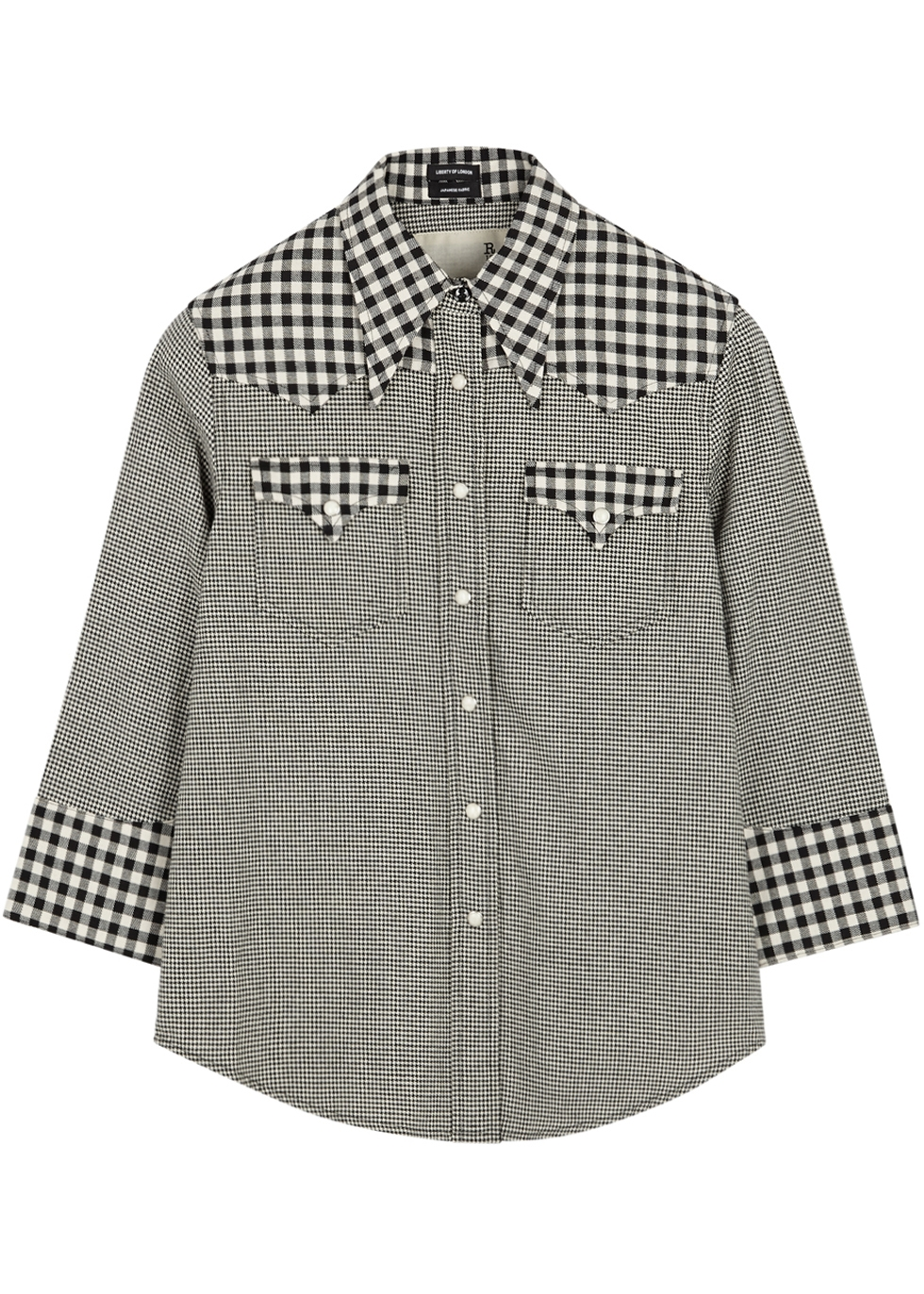 MONOCHROME COTTON SHIRT