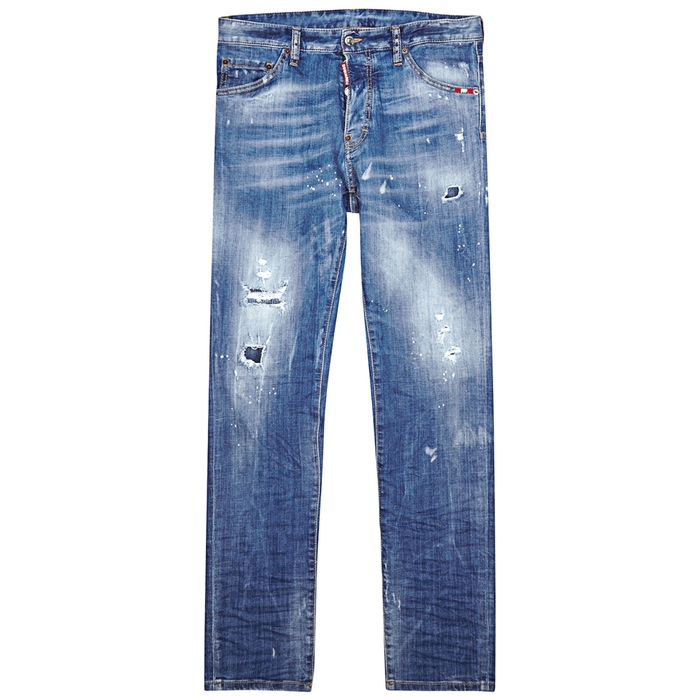 DSQUARED2 Cool Guy Distressed Skinny Jeans