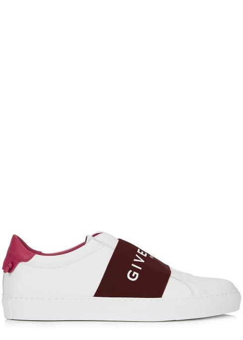 9b1b75d8e332 Givenchy Urban Street white leather trainers - Harvey Nichols
