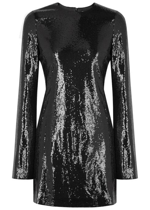 d991bffe649 Galvan Galaxy sequinned mini dress - Harvey Nichols