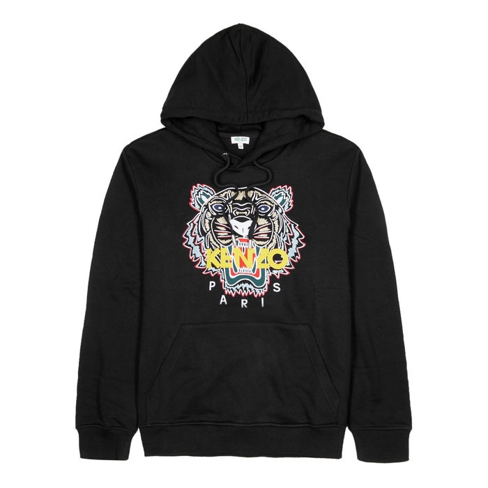 KENZO Tiger-embroidered Stretch-cotton Sweatshirt