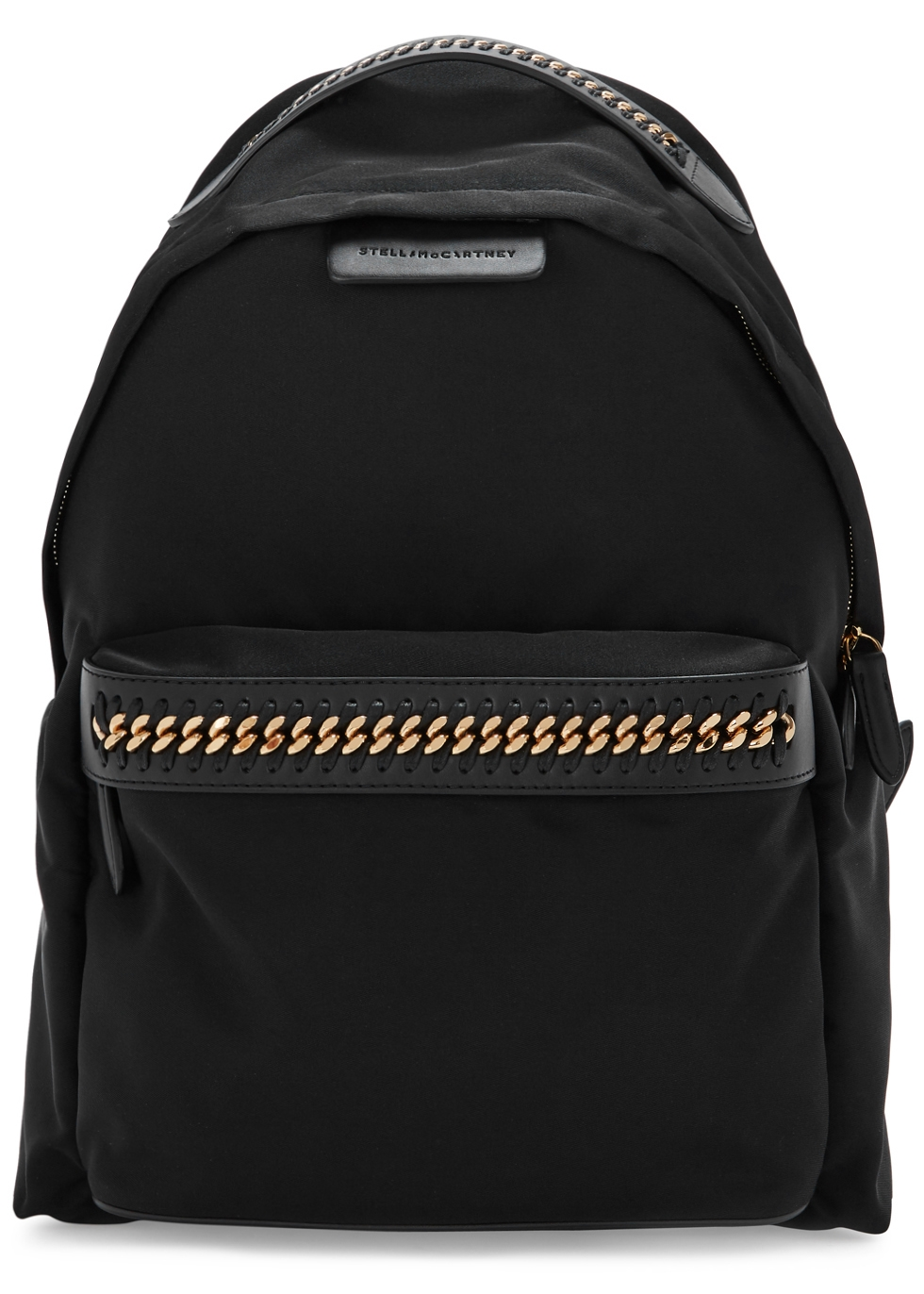 FALABELLA BLACK NYLON BACKPACK