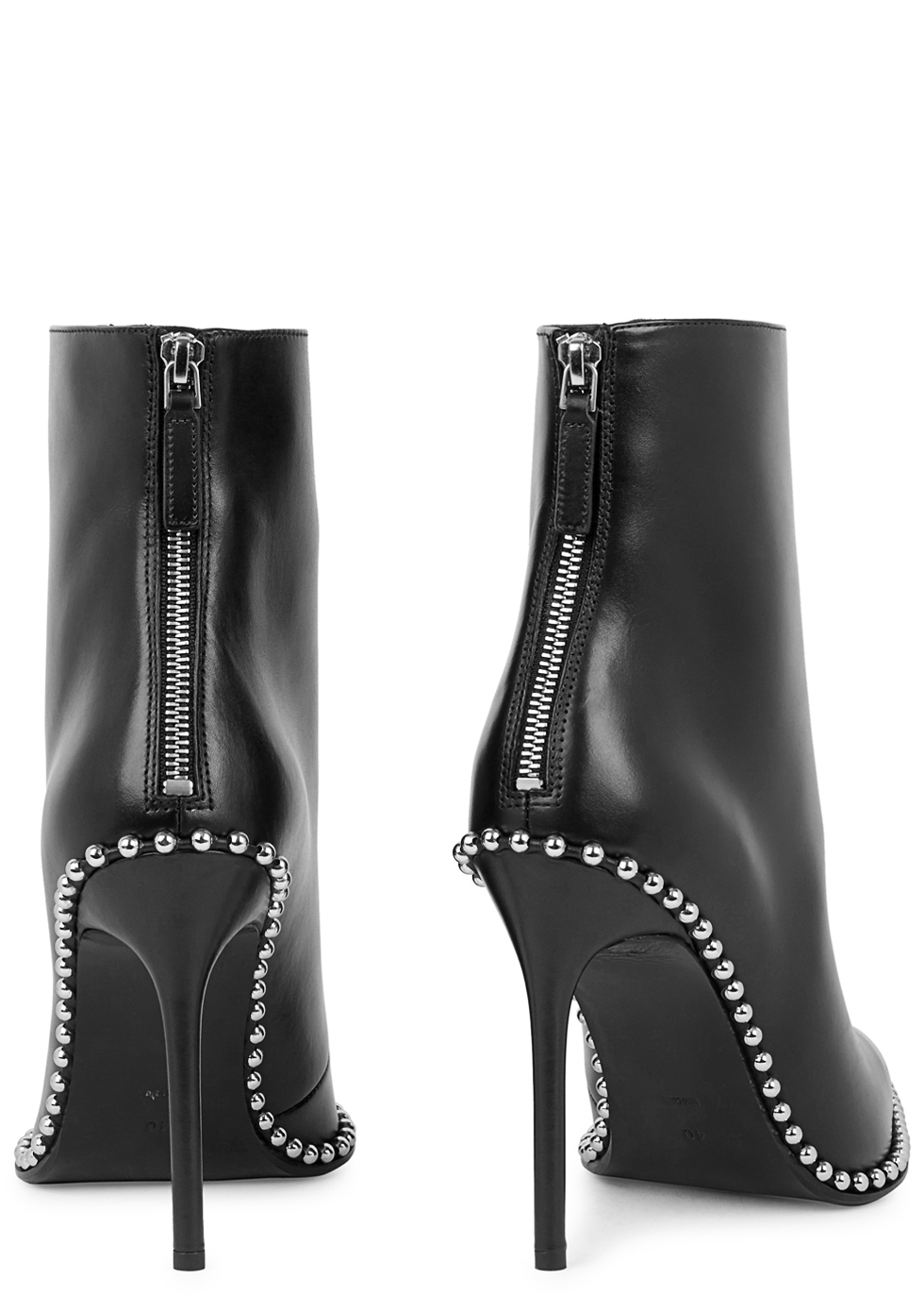 Eri 115 black studded leather ankle boots - Alexander Wang