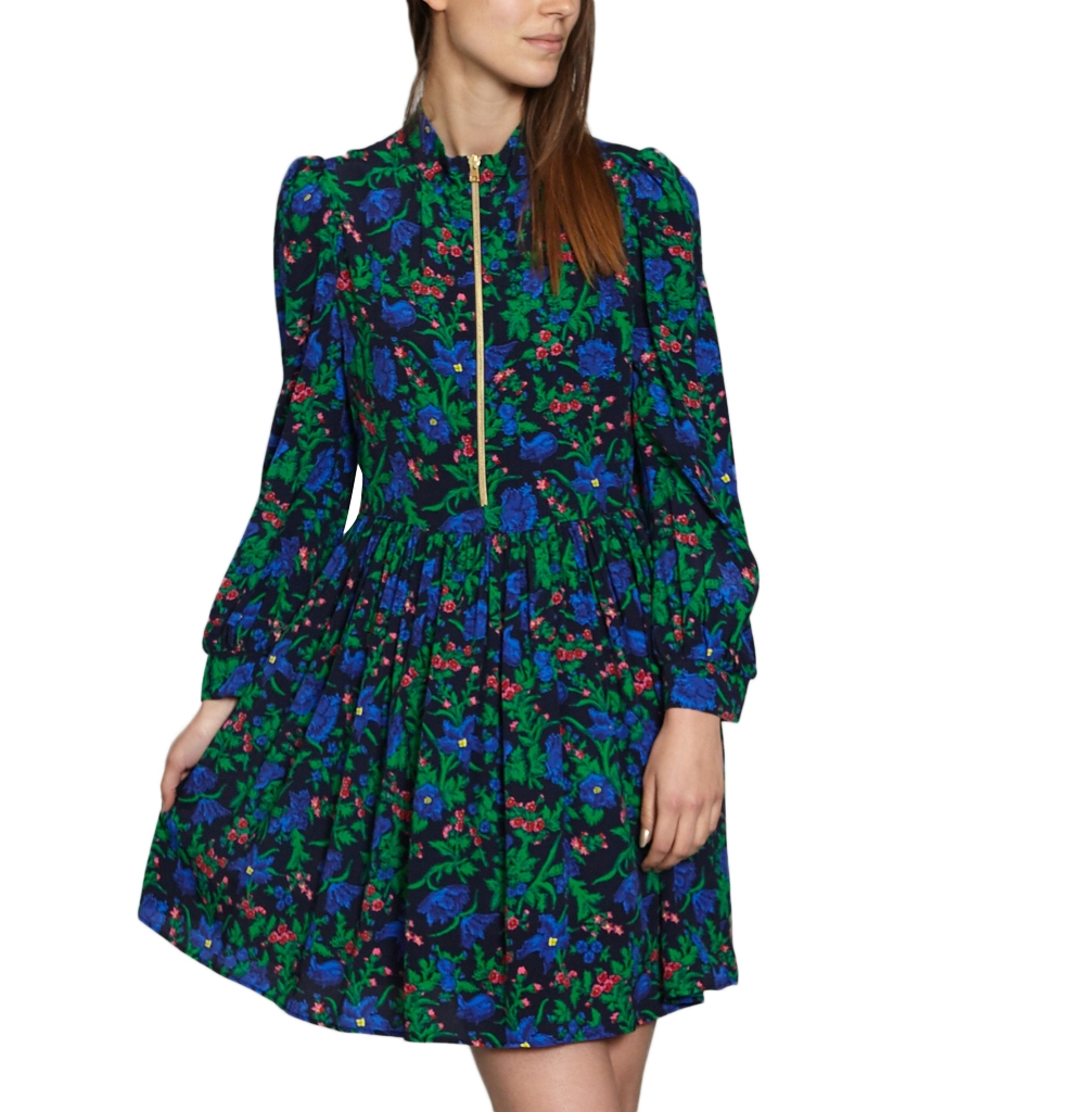 TARA JARMON PRINTED DRESS