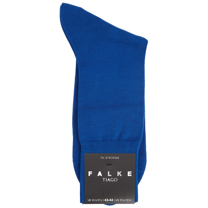 Falke Tiago Blue Cotton-blend Socks