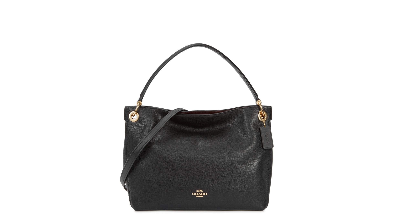 b57977ce5d2 Coach Clarkson black leather hobo bag - Harvey Nichols