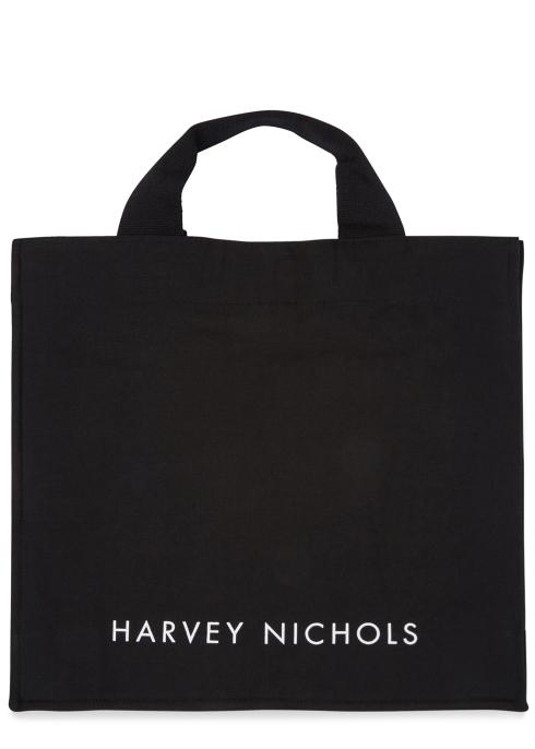 96ea4b8c89 Short Handle Black Canvas Tote Bag - Harvey Nichols