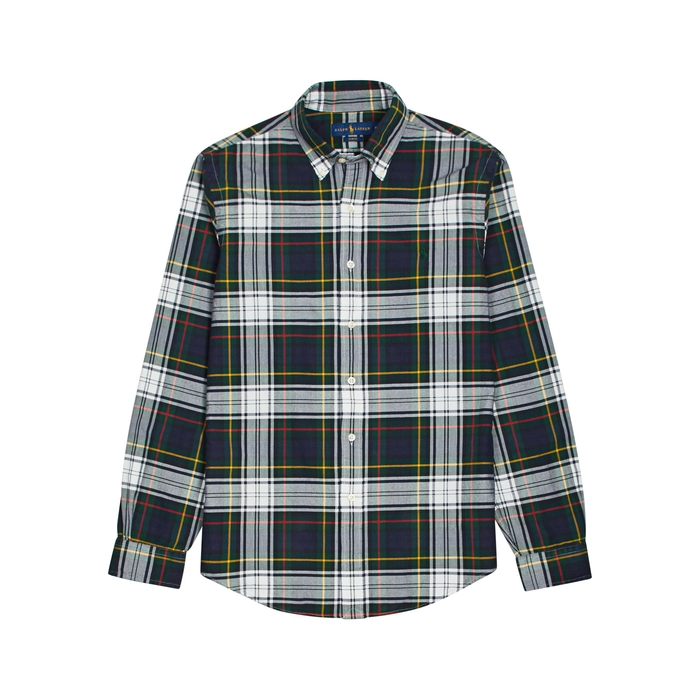 Polo Ralph Lauren Checked Slim Cotton Shirt thumbnail