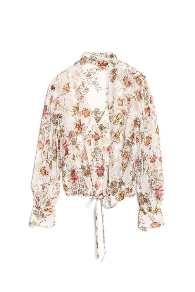 HUNKYDORY FLORA FLORAL BLOUSE
