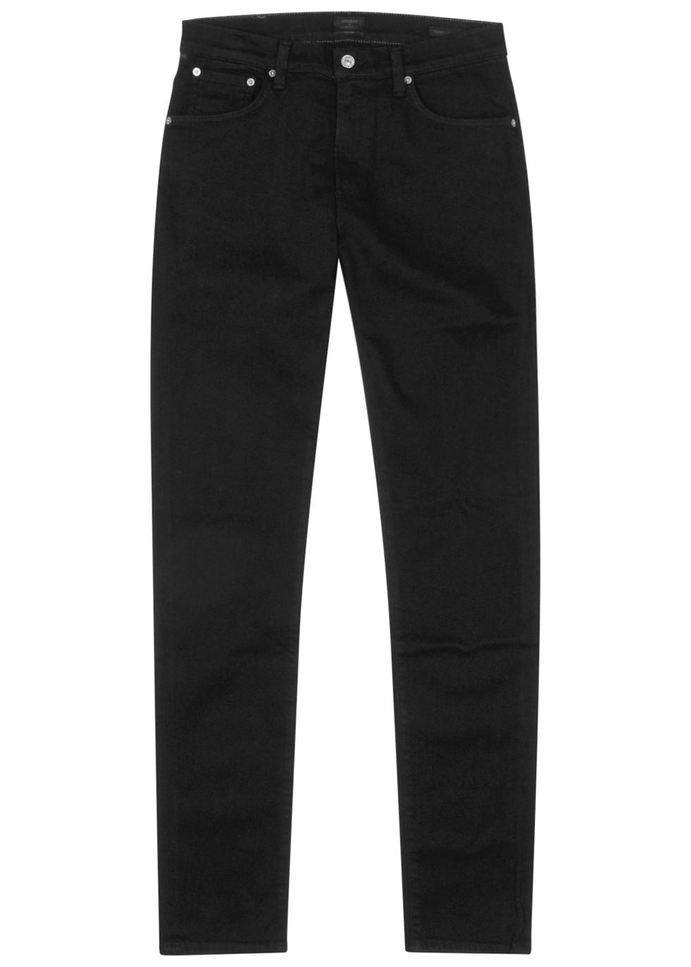 Noah black skinny jeans