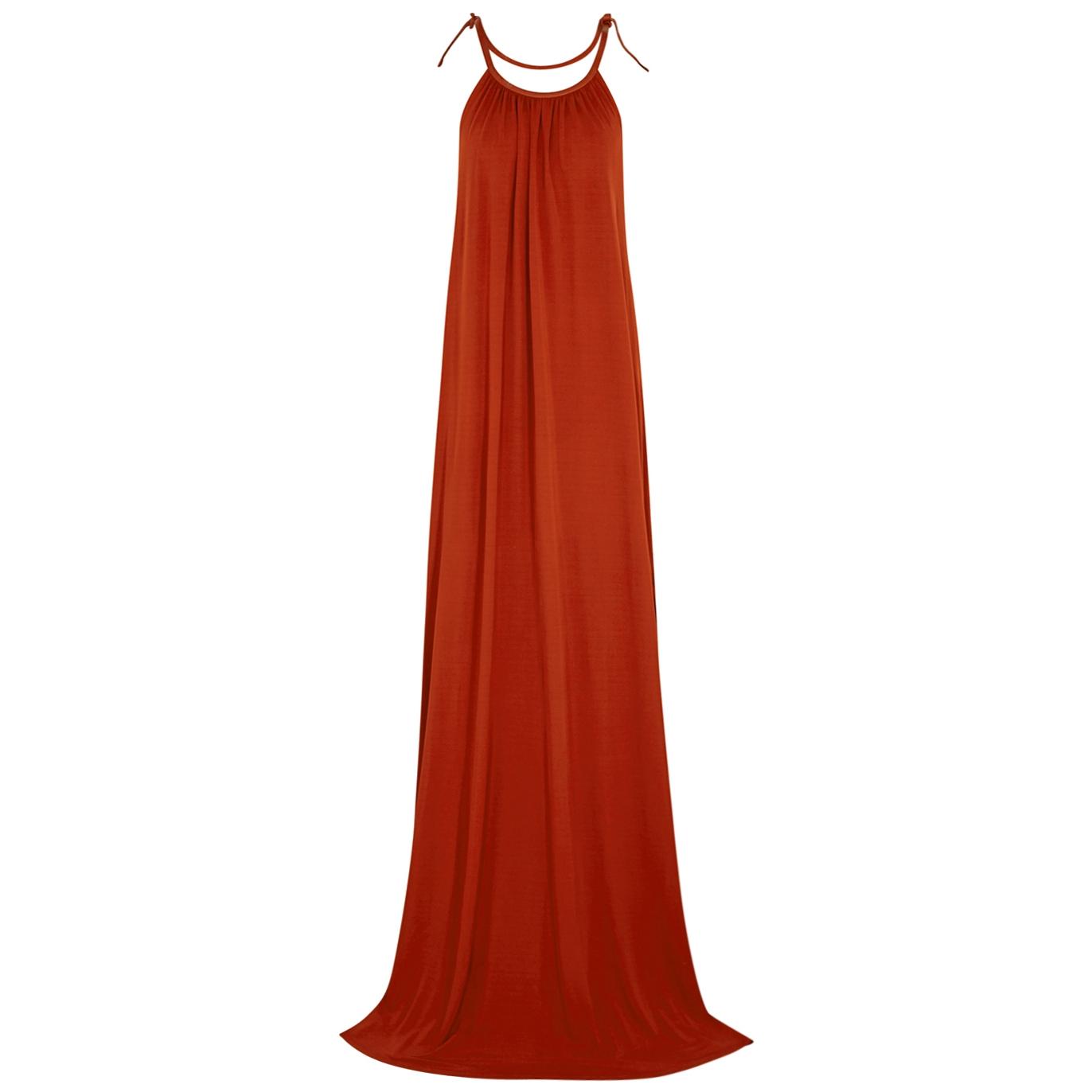 34c3326ad0f Rosetta Getty Burnt orange maxi dress - Harvey Nichols