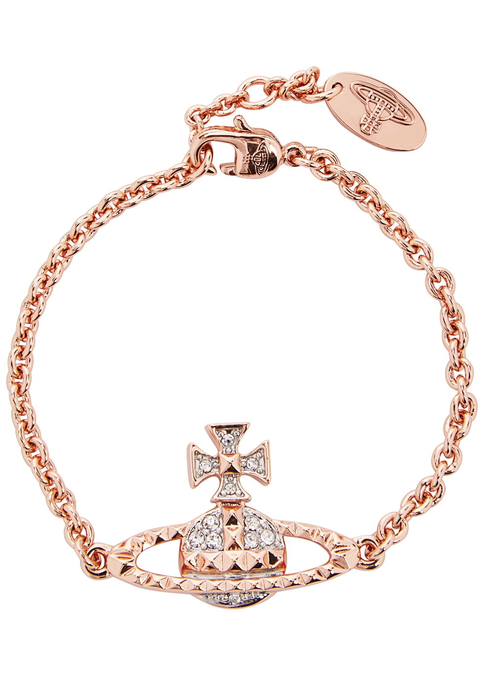 MAYFAIR BAS RELIEF ROSE GOLD TONE BRACELET